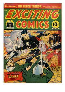 Exciting Comics 023 (no ifc,ibc) de  - fiche descriptive