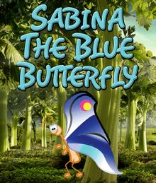 Sabina the Blue Butterfly