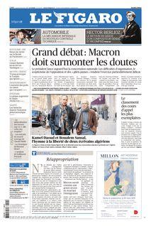 Le Figaro du 15-01-2019 - Le Figaro