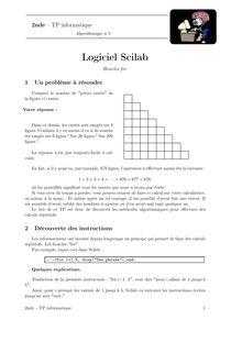TP informatique, Probabilités TP n°4 : boucle for