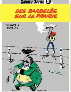 Lucky Luke - Tome 29 - DES BARBELES SUR LA PRAIRIE - Goscinny