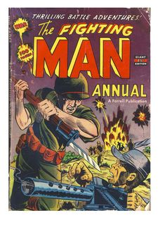 The Fighting Man Annual Part 1 pgs 1-32 + covers (original material)
