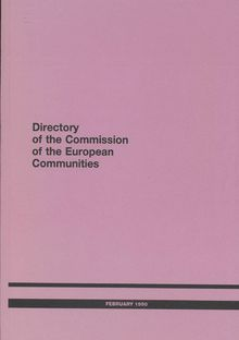 Directory of the Commission of the European Communities