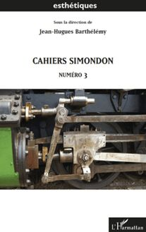 Cahiers Simondon