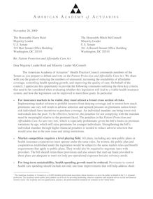 AAA comment letter on Senate bill 112009