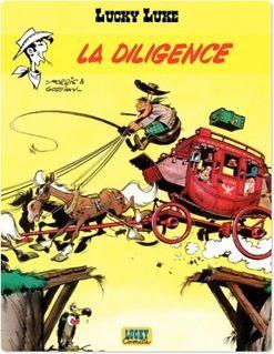 Lucky Luke - Tome 1 - Diligence (La) - Goscinny