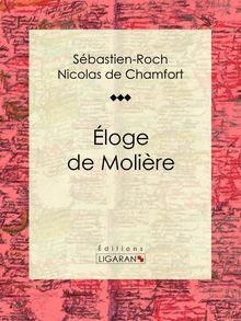 Éloge de Molière de Ligaran, Sébastien-Roch Nicolas de Chamfort - fiche descriptive