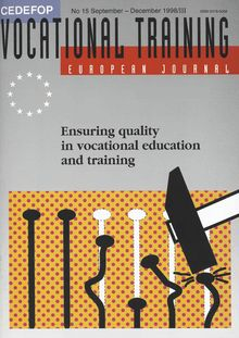 Ensuring quality in vocational education and training
