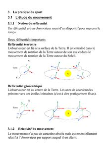Cours complet sur le pratique du sport - physique-chimie 2nd