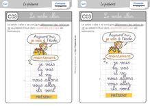 Orthographe / Grammaire / Vocabulaire CE1 – Préparations de dictées et leçons - Leçon verbe aller