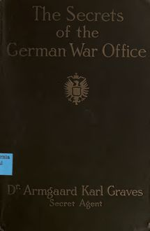 The secret of the German war office