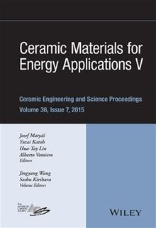 Ceramic Materials for Energy Applications V