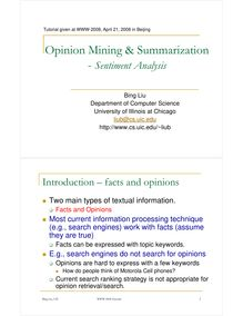 opinion mining tutorial-WWW-2008 [Compatibility  Mode]