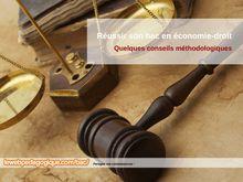 Fiches de révision bac économie-droit