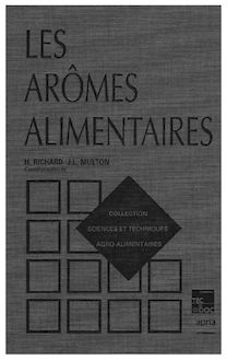 Les Arômes alimentaires (Coll. S.T.A.A.)