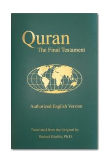 Quran the final testament authorized english version