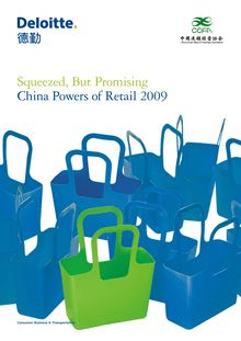 China powers of retail 2009: Squeezed but promising