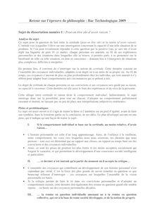 Corrigé d'annales de bac – Philosophie L - Dissertation – Up2School