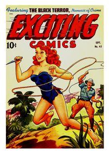 Exciting Comics 063 (paper) -JVJ de  - fiche descriptive