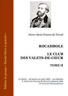 Rocambole - Le Club des Valets-de-coeur - Tome II