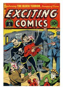 Exciting Comics 043 (paper+5fiche)-c2c de  - fiche descriptive