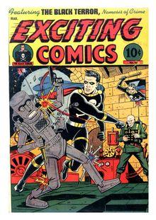 Exciting Comics 045 (paper+7fiche)-c2c de  - fiche descriptive