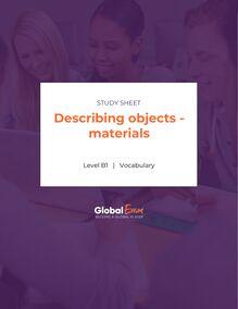 Describing objects - materials
