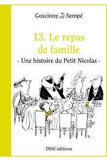 Le repas de famille de René Goscinny, Jean-Jacques Sempé - fiche descriptive
