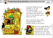 Lecture / Littérature CP – Prisonnière de la sorcière - Le texte de l'album