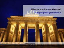 Bac 2014 Fiche methodo Allemand
