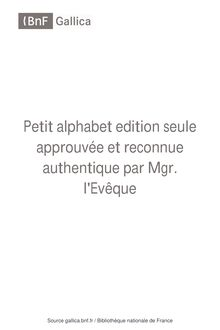 Petit alphabet