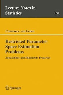 Restricted Parameter Space Estimation Problems