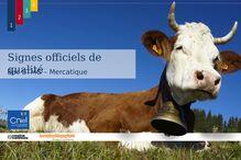 La famille des produits laitiers: la labellisation du lait