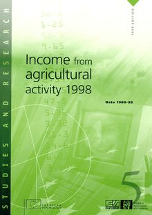 Income from agricultural activity 1998