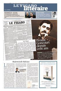 Figaro Littéraire du 18-04-2019 - Figaro Littéraire