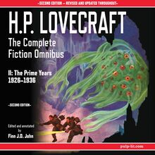 H.P. Lovecraft: The Complete Fiction Omnibus II: The Prime Years 1926-1936