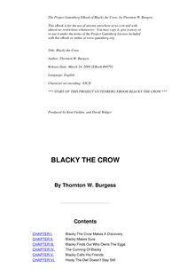 Blacky the Crow