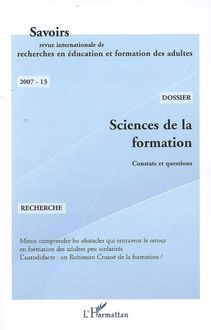Sciences de la formation