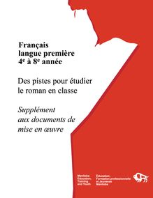 Français langue première 4e à 8e année