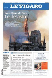 Le Figaro du 16-04-2019 - Le Figaro