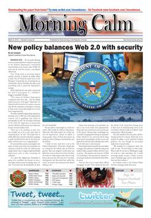 New policy balances Web 2.0 with security