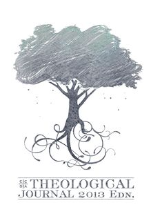 CCDA Theological Journal, 2013 Edition