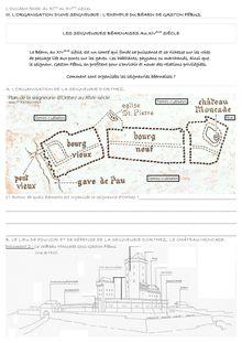 Cours sur l'organisation d'une seigneurie : exemple du éarn de Gaston Fébus - histoire 5eme