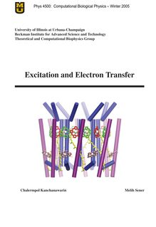 Excitation and Electron Transfer
