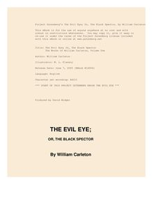 The Evil Eye; Or, The Black Spector - The Works of William Carleton, Volume One