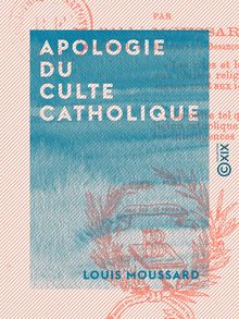Apologie du culte catholique