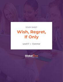 Wish, Regret, If Only