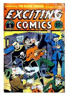 Exciting Comics 043 (diff ver-all paper) -JVJ de  - fiche descriptive