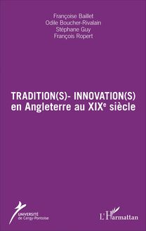 Tradition(s) - Innovation(s)