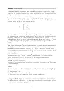 Chapitre sur les ensembles de nombres Activité 2.